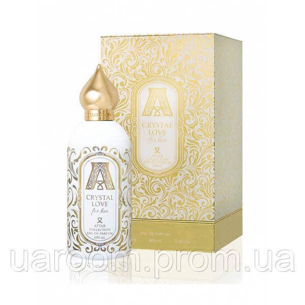 Парфюмированная вода женская Attar Collection Crystal Love, 100 мл. оригинальное качество!