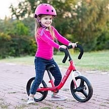 Дитячий беговел Folding Smart Trike червоний, фото 2