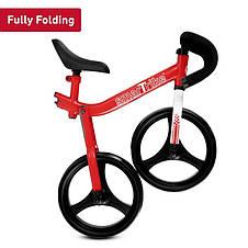 Дитячий беговел Folding Smart Trike червоний, фото 3