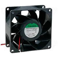 PMD2408PMB1A (вентилятор DC, 80x80x38, 24V, ball, 147,6м3/год, 54,8дБ)