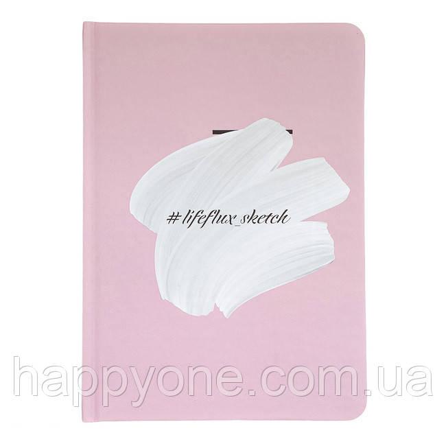 Скетчбук для рисования LifeFlux Sketch Overpaint (розовый)