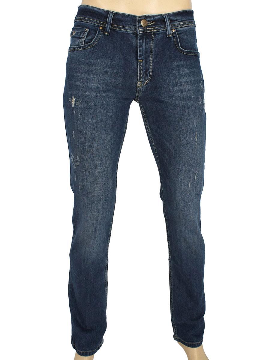 Стильні чоловічі джинси Cen-cor CNC-1475 з потертостями