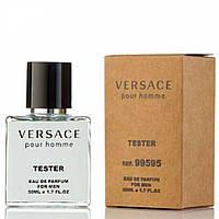 Тестер Versace Pour Homme для чоловіків і хлопців 50 мл виробництва ОАЕ