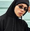 Солнцезащитные очки женские стеклянные узкие овальные в расцветках сонцезахисні окуляри, фото 2