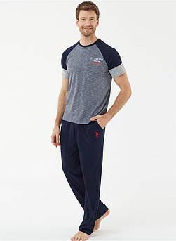 Піжама чоловіча зі штанами U. S. Polo ASSN 18434