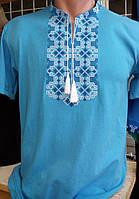 Мужская футболка вышитая  219 САК, фото 1