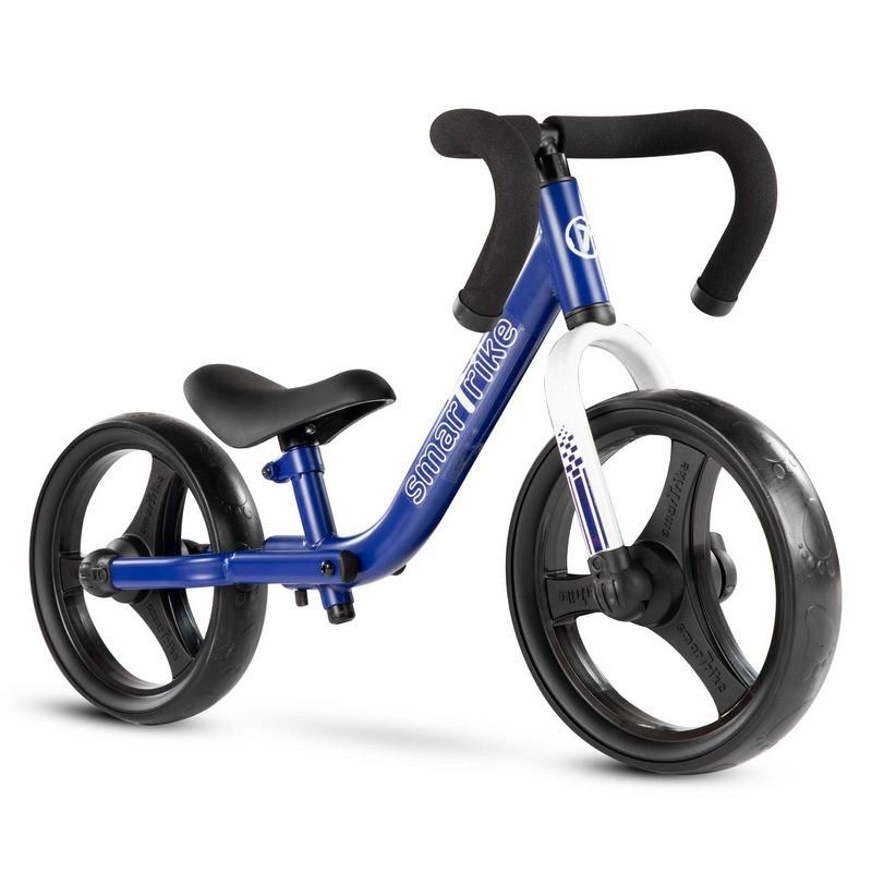 Детский беговел Folding Smart Trike синий