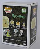 """Колекційна фігурка FUNKO POP! серії """"Rick & Morty"""" - Рік у скафандрі зі змією, фото 4"""