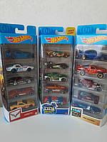 Hot Wheels Подарочный набор автомобилей 5шт Хот Вилс Mattel