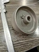 Колесо 100 мм термостойкое без покрытия