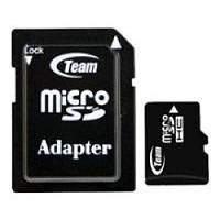 Карта памяти MicroSDHC Team 16 Gb 10class