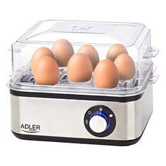 Яйцеварка ADLER AD 4486 - срібного кольору