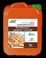 Огнебиозащита древесины. Антипирен. Антисептик ConWood Mineral Eurо 5л