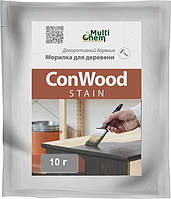 Морилка, протрава, барвник для деревини ConWood Stain (всі кольори) суха 10 г