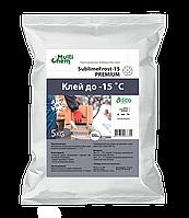 Протиморозна добавка Sublime Frost-15 для штукатурки, кладки, клею 5кг. Противоморозная добавка