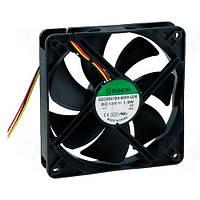 EEC0251B3-G99 (вентилятор DC, 120x120x38, 12V, ball, 127,5м3/год, 34дБ)