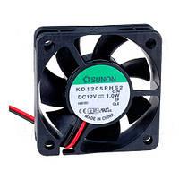 KD1205PHV1AF (вентилятор DC, 50x50x15, 12V, MagLev, 28,9м3/год, 33дБ)
