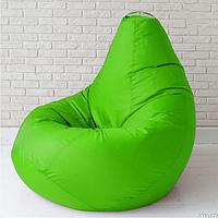Бескаркасное кресло груша 85х105 см Салатовое