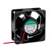 KD1206PTS3.13 (вентилятор DC, 60x60x25, 12V, sleeve, 28,9м3/год, 25дБ)