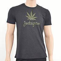 Мужская футболка gustagram  Антрацит