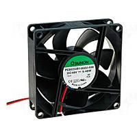 PE80254B1-A99 (вентилятор DC, 80x80x25, 48V, ball, 101,94м3/год, 47,5дБ)