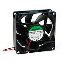 PE80252B1-A99 (вентилятор DC, 80x80x25, 24V, ball, 101,94м3/год, 47,5дБ)