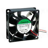 PMD1207PTV1A (вентилятор DC,70x70x25, 12V MagLev, 83,25м3/год, 44дБ)