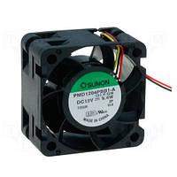 PMD1204PBB1AF (вентилятор DC, 40x40x24, 12V, ball, 39,9м3/год, 55дБ)
