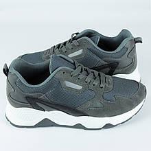 Кросівки чоловічі LaVento Сірі з високою підошвою 40-45р.