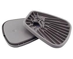 Платформа (аналог 3М 603 для фильтров серии 6000) для пылевого фильтра (цена за 1 шт) крепление байонетное