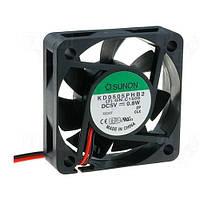 KD0505PHB2 (вентилятор DC, 50x50x15, 5V, ball, 22,1м3/год, 30дБ)