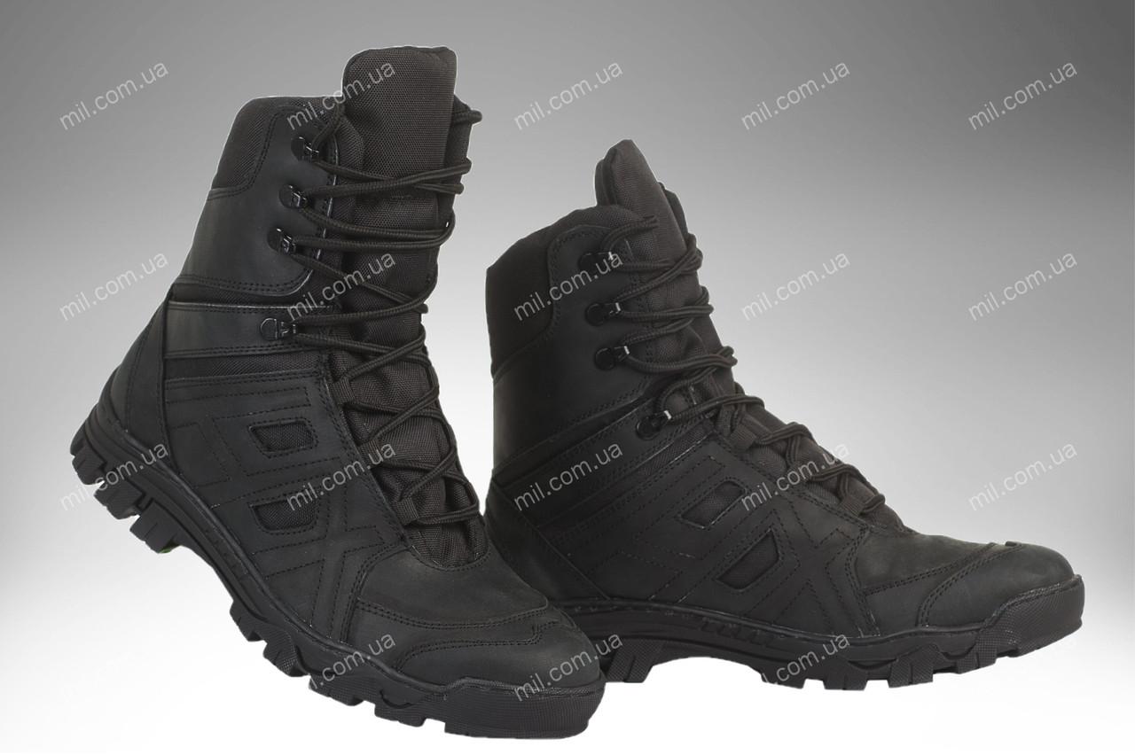 Берци демісезонні / військова тактична взуття HX (black)