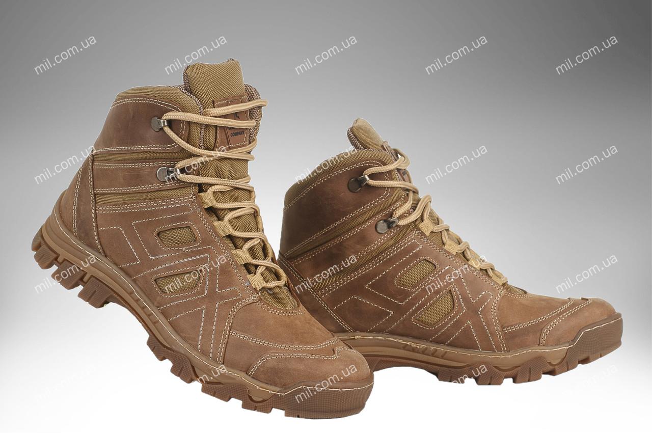 Ботинки тактические демисезонные / военная, армейские обувь HX HARD (coyote)