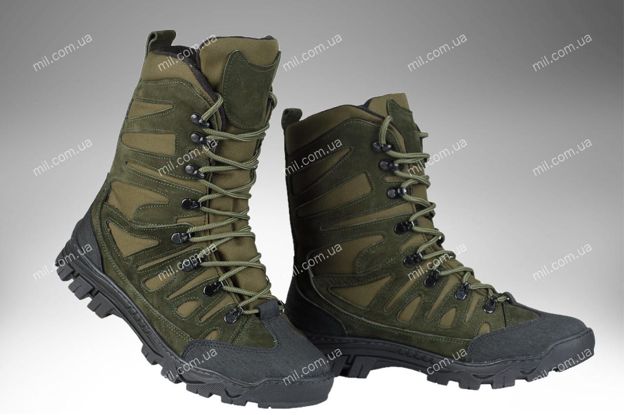 Берцы тактические демисезонные / военная, армейские обувь КАСКАД (olive)