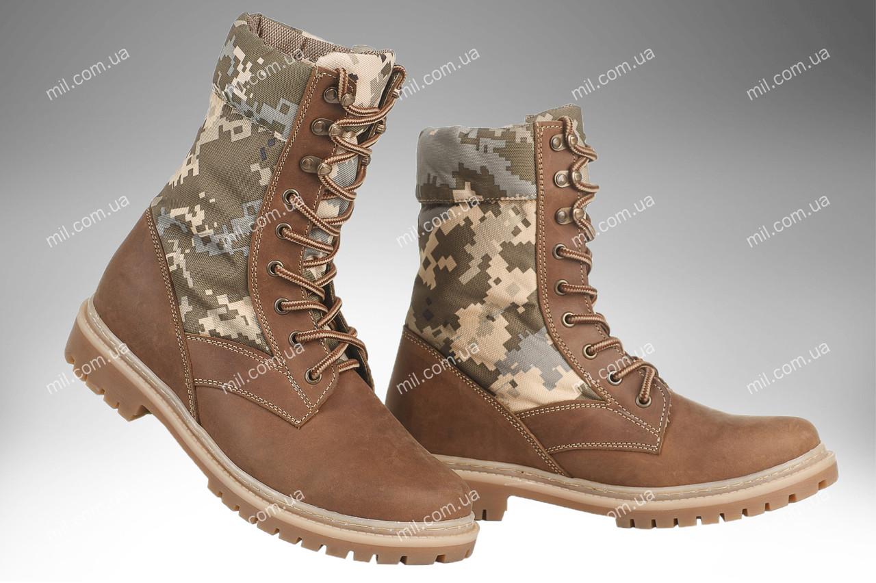 Берцы демисезонные / военная, рабочая обувь САХАРА (MM14)
