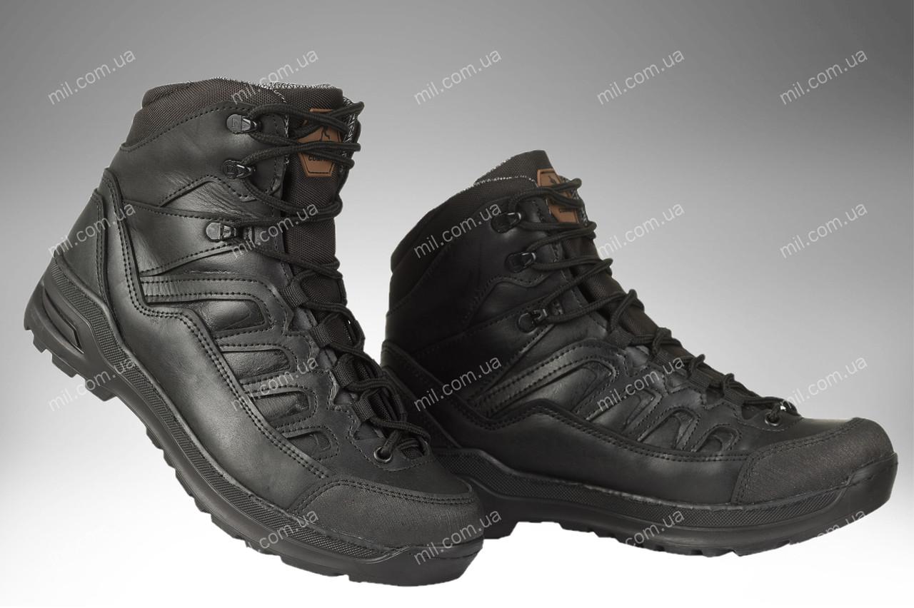 Черевики військові всесезонні/ армійська, тактична спецвзуття DIVISION (black)