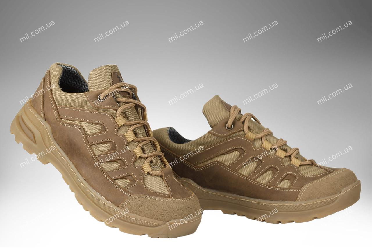 Кросівки тактичні всесезонні / військова, армійське взуття DIVISION LOW (coyote)