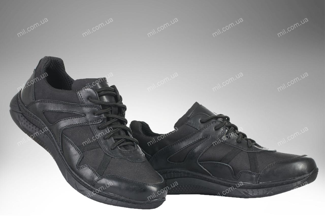 Кроссовки тактические демисезонные / армейская, военная обувь APACHE (black)