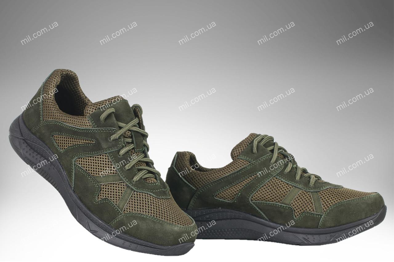 Летние облегченные кроссовки / военная спецобувь APACHE (olive)