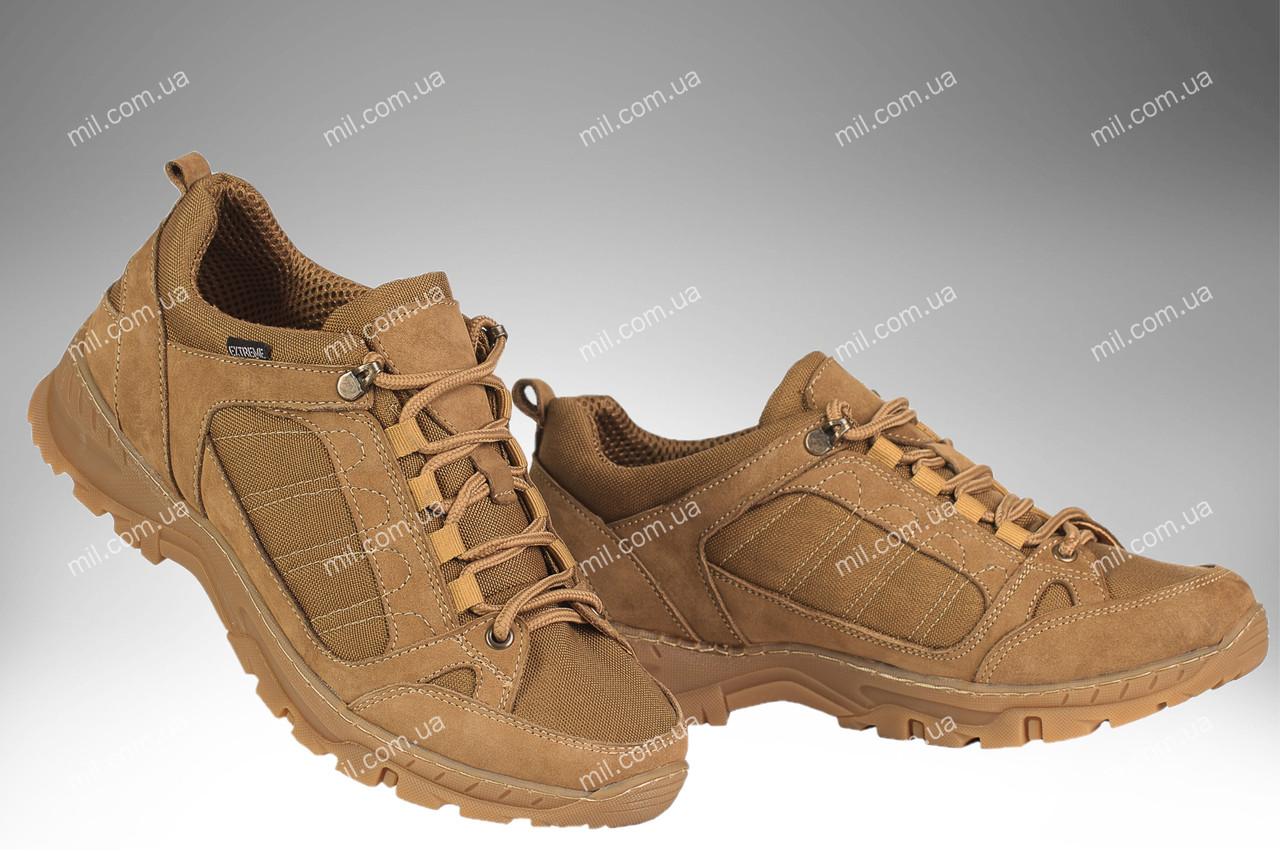 Кроссовки тактические / демисезонная военная спец обувь VENDETA (coyote)