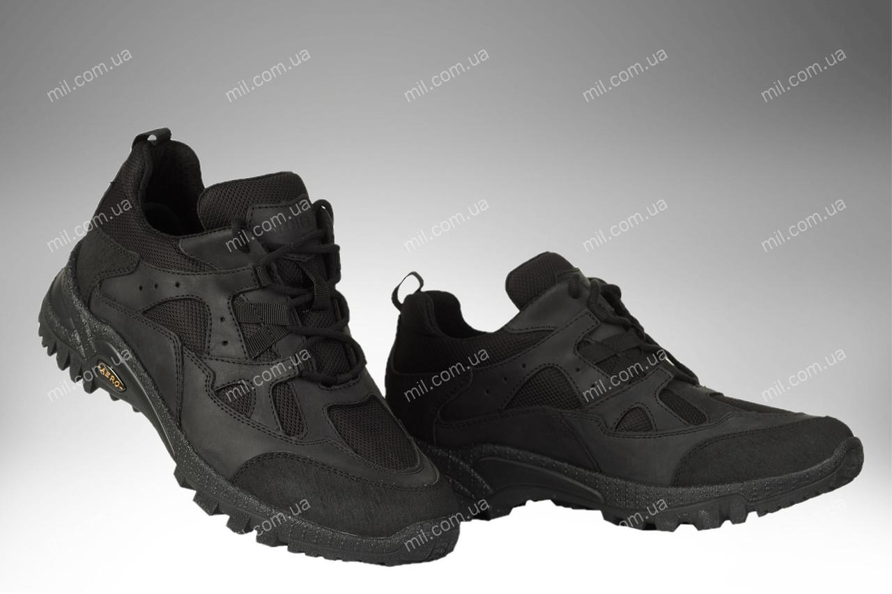 Демісезонні тактичні кросівки / трекінгова військова спец взуття COGUAR Stimul (black)
