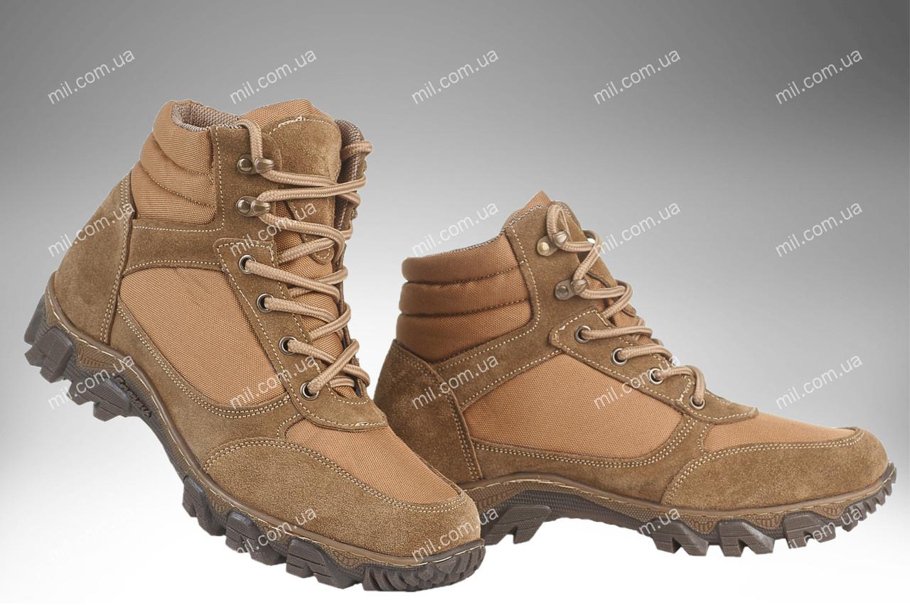 Військові демісезонні черевики / тактична, армійська спец взуття CYCLON (coyote)