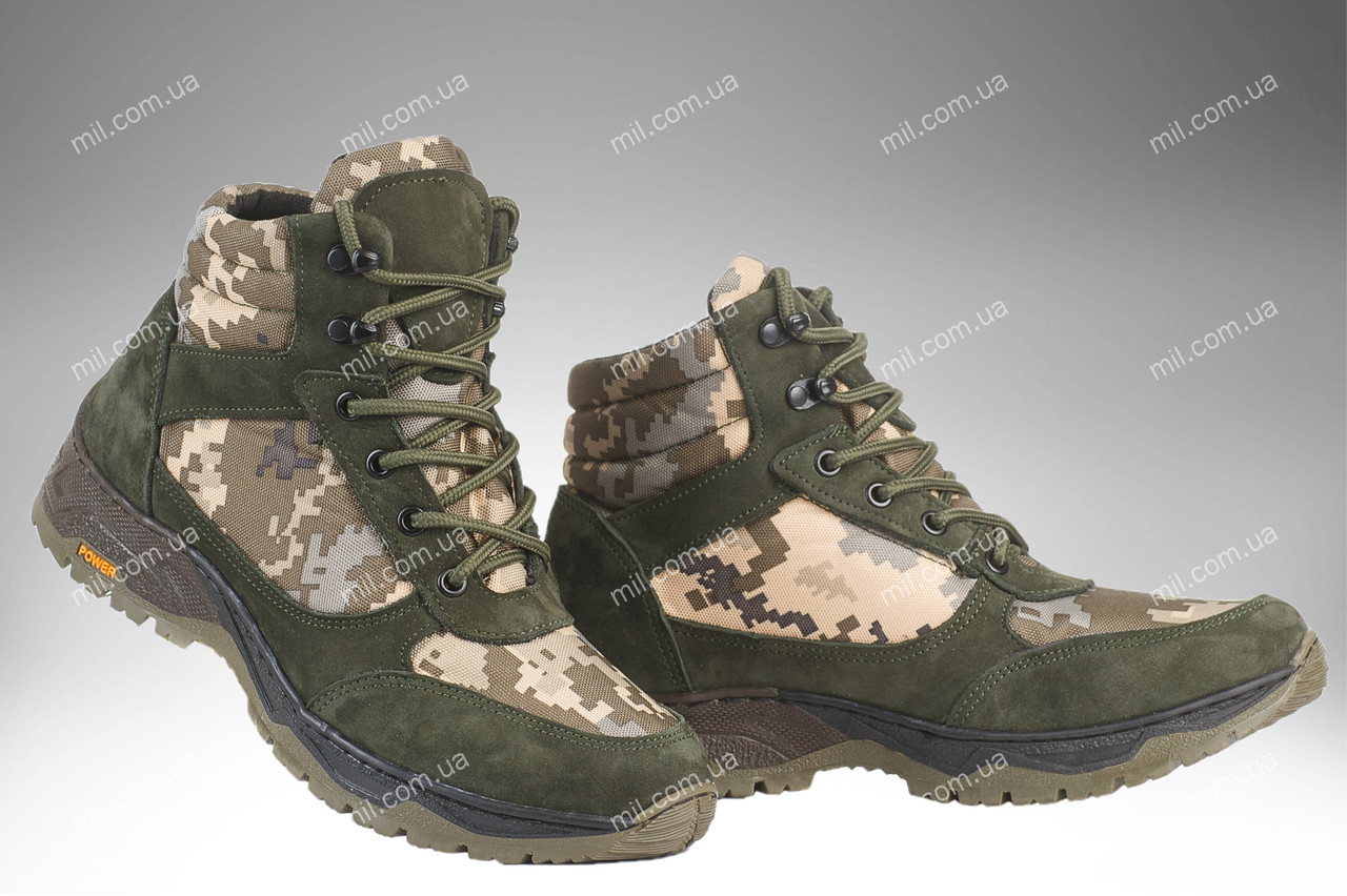 Військові демісезонні черевики / тактична, армійська спец взуття CYCLON MM14 (olive)