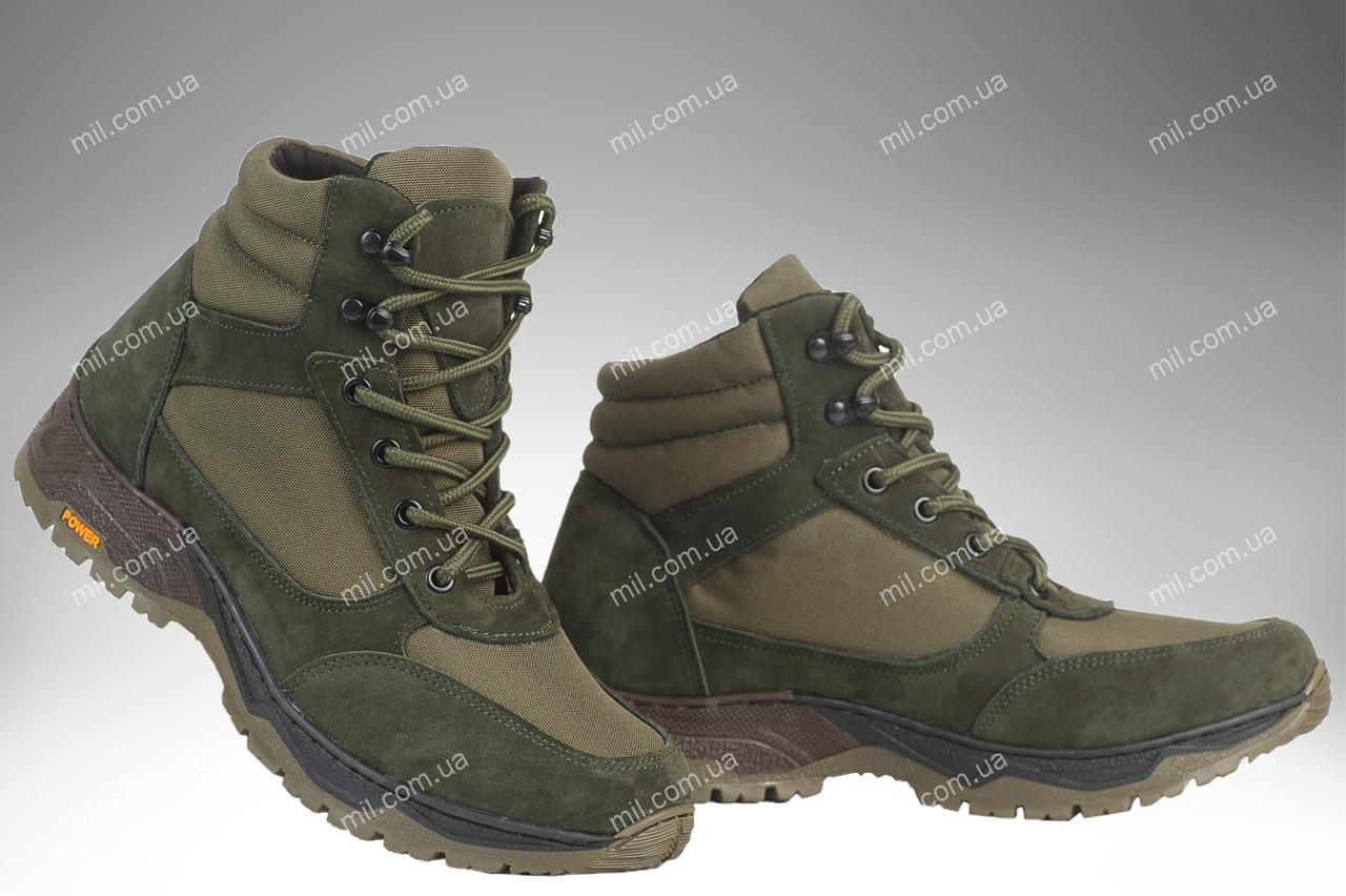 Військові демісезонні черевики / тактична, армійська спец взуття CYCLON (olive)