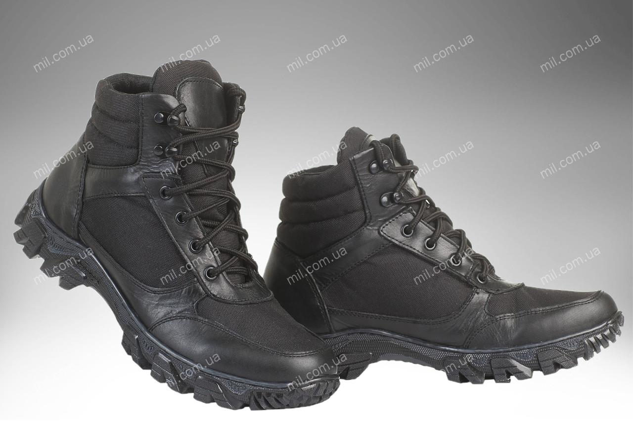 Військові демісезонні черевики / тактична, армійська спец взуття CYCLON V2 (black)