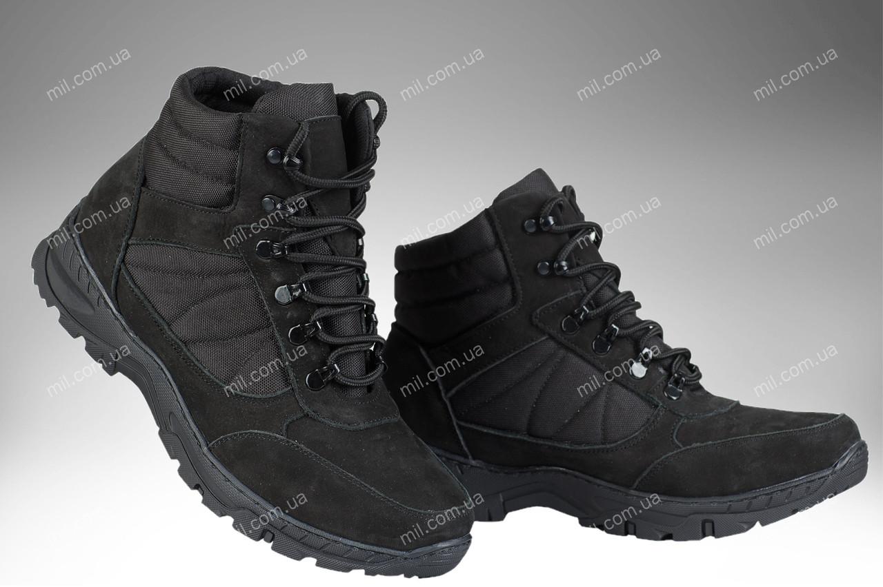 Военные демисезонные ботинки / тактическая, армейская спец обувь CYCLON Gen.2 (black)