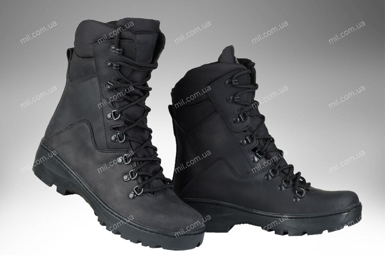 Військові берци / демісезонна, тактична взуття PREDATOR (black)
