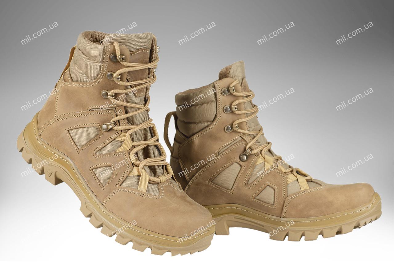 Демисезонные тактические ботинки/ армейская, военная спецобувь FORPOST (coyote)