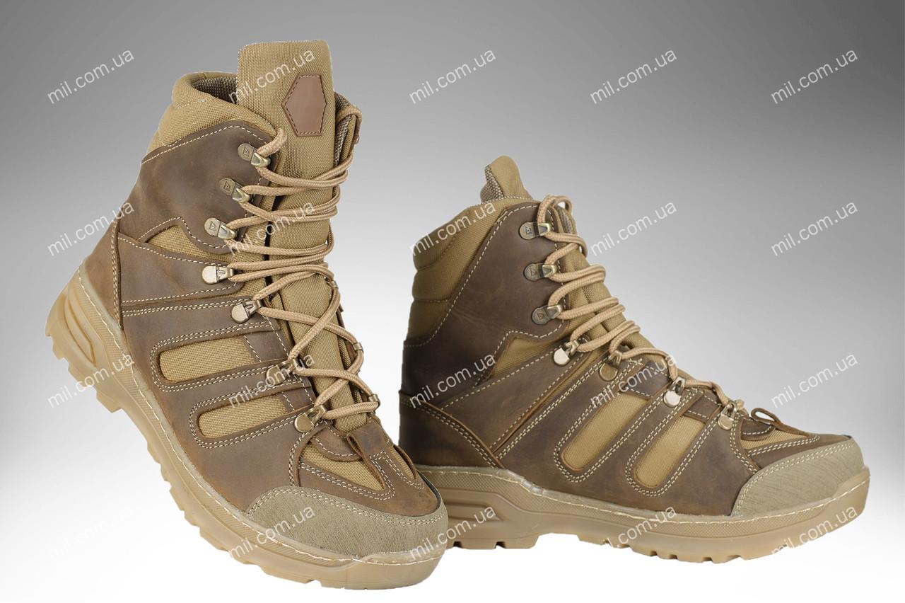 Берцы демисезонные / военная, тактическая обувь APACHE (coyote)
