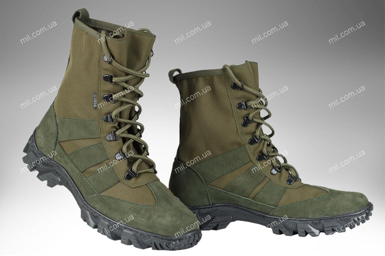 Берци полегшені військові / армійська, тактична спец взуття X Croc (olive)
